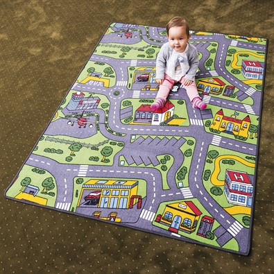 Detský koberec City life