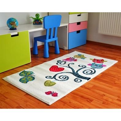 Detský koberec Kids 420 White
